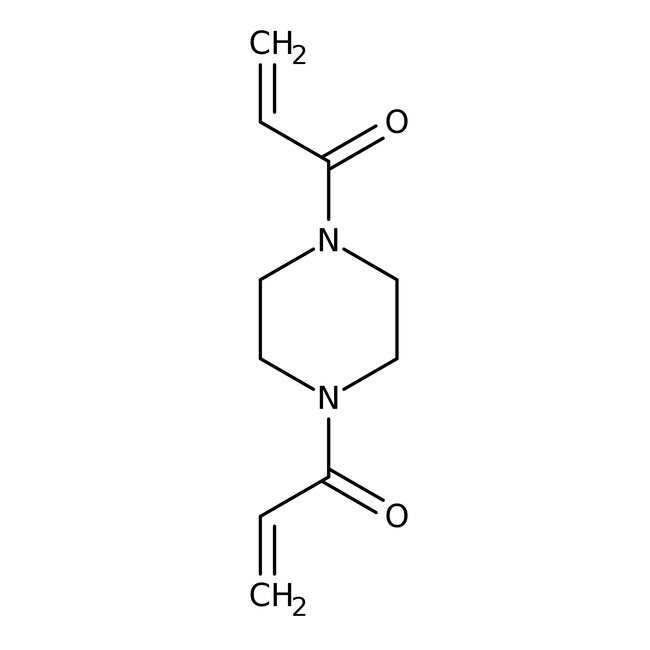 Alfa Aesar™1,4-Diacryloylpiperazine, Electrophoresis Reagent, 97% 25g Alfa Aesar™1,4-Diacryloylpiperazine, Electrophoresis Reagent, 97%