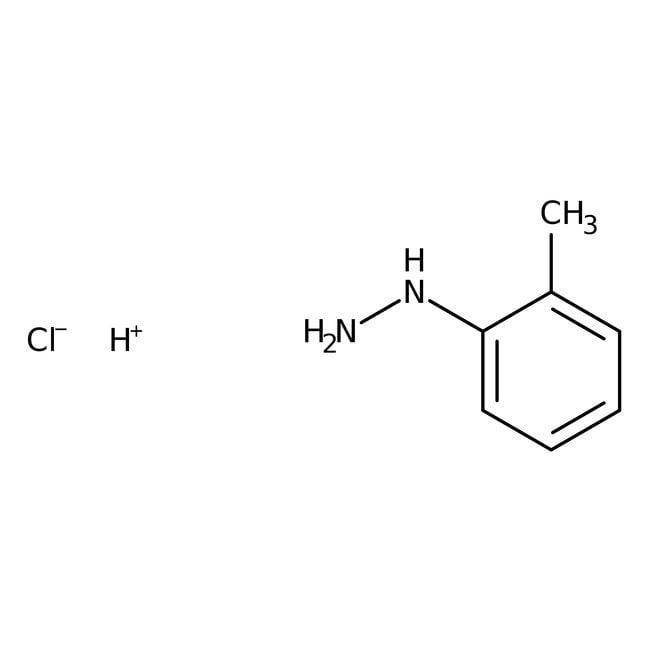 Alfa Aesar™Clorhidrato de o-tolilhidracina, 98% 25g Alfa Aesar™Clorhidrato de o-tolilhidracina, 98%