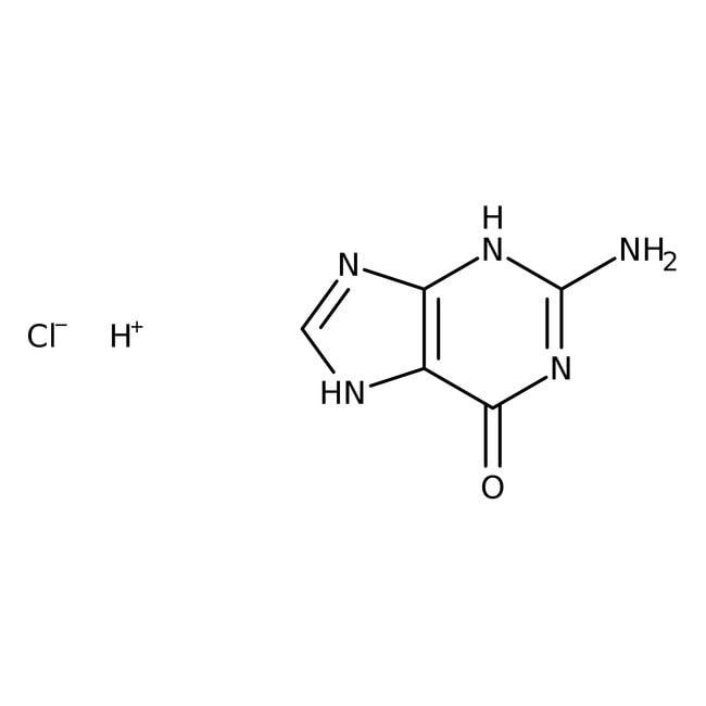 Clorhidrato de guanina, 99%, Alfa Aesar™ 50g Clorhidrato de guanina, 99%, Alfa Aesar™