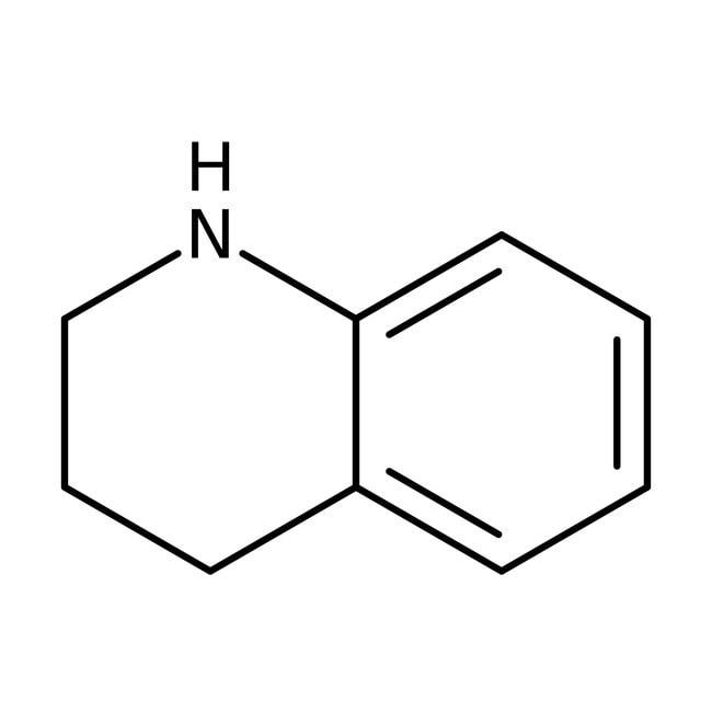 1,2,3,4-tétrahydroquinoléine, 98%, ACROSOrganics™ 2,5kg; bouteille en verre 1,2,3,4-tétrahydroquinoléine, 98%, ACROSOrganics™