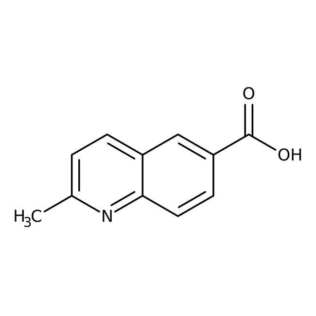 2-Methyl-6-quinolinecarboxylic acid, ≥97%, Maybridge™ 250mg 2-Methyl-6-quinolinecarboxylic acid, ≥97%, Maybridge™