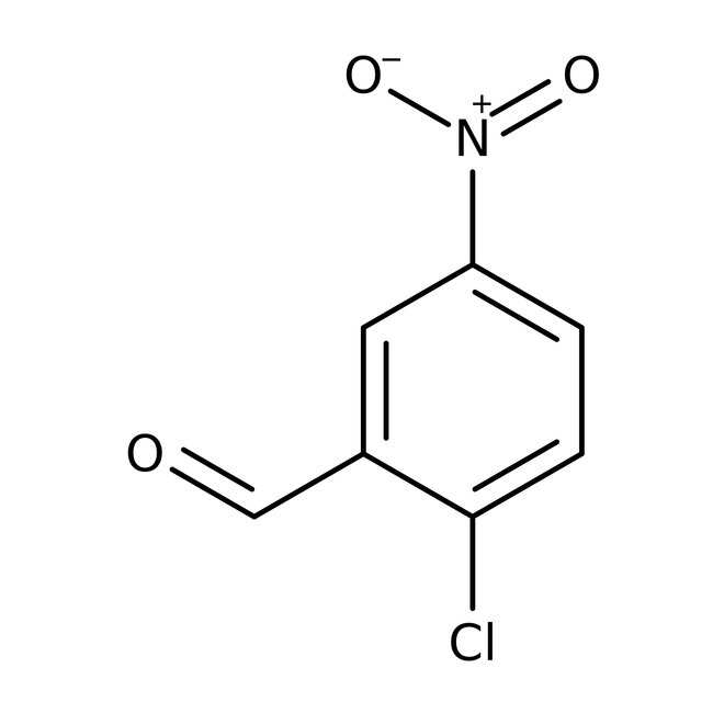 Alfa Aesar™2-Cloro-5-nitrobenzaldehído, 97% 10g Alfa Aesar™2-Cloro-5-nitrobenzaldehído, 97%
