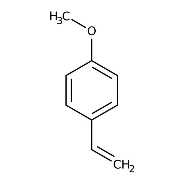 Alfa Aesar  4-Methoxystyrene, 98%, stab. with 0.1% 4-tert-butylcatechol