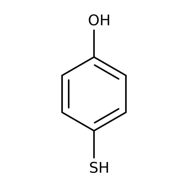 4-Mercaptophenol, 99%, ACROS Organics™ 5g; Glass bottle 4-Mercaptophenol, 99%, ACROS Organics™