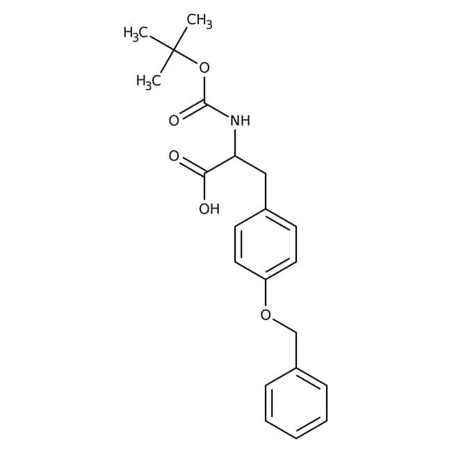 Alfa Aesar™N-Boc-O-benzyl-D-tyrosine, 95% 25g Alfa Aesar™N-Boc-O-benzyl-D-tyrosine, 95%