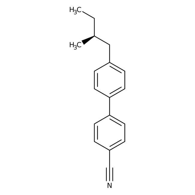 Alfa Aesar™(S)-4-Cyano-4'-(2-methylbutyl)biphenyl, 97%