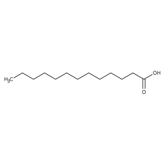 n-Tridecanoic acid, 97%, ACROS Organics™ 10g; Glass bottle n-Tridecanoic acid, 97%, ACROS Organics™
