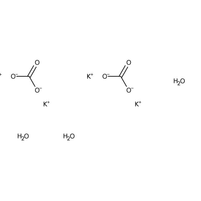 Potassium carbonate sesquihydrate, 98.5%, ACS reagent, ACROS Organics