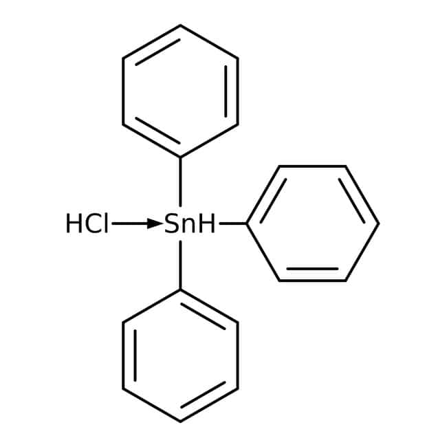 Triphenyltin chloride, 95%, ACROS Organics™ 5g; Glass bottle Triphenyltin chloride, 95%, ACROS Organics™