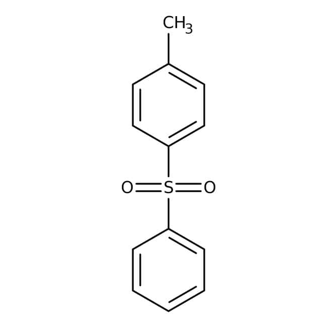 Alfa Aesar™Phenyl p-tolyl sulfone, 98+% 10g Alfa Aesar™Phenyl p-tolyl sulfone, 98+%