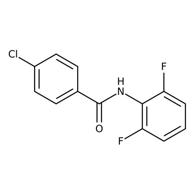 Alfa Aesar™4-Chloro-N-(2,6-difluorophenyl)benzamide, 97% 1g Alfa Aesar™4-Chloro-N-(2,6-difluorophenyl)benzamide, 97%