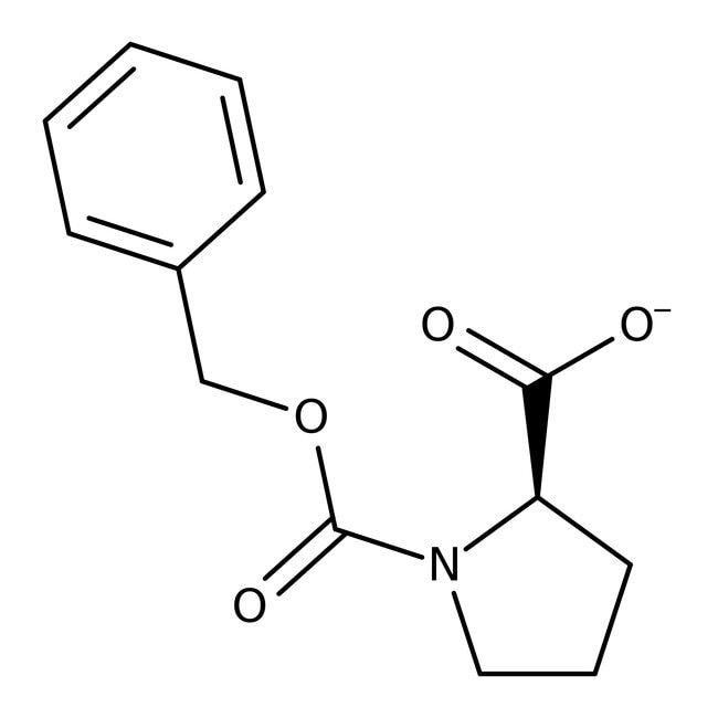N-Carbobenzyloxy-D-proline, 98%, ACROS Organics™ 5g N-Carbobenzyloxy-D-proline, 98%, ACROS Organics™