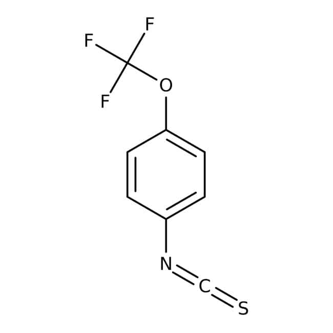 4-(Trifluoromethoxy)phenyl isothiocyanate, 97%, Maybridge™ Amber Glass Bottle; 1g 4-(Trifluoromethoxy)phenyl isothiocyanate, 97%, Maybridge™