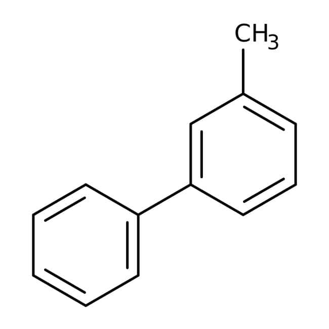 3-Phenyltoluene, 95%, ACROS Organics™ 1g; Glass bottle 3-Phenyltoluene, 95%, ACROS Organics™