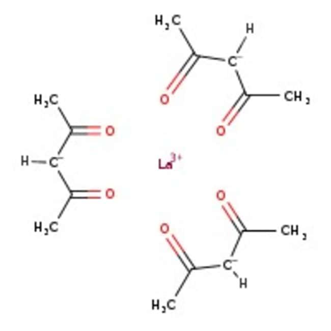 Alfa Aesar™Lanthanum(III) 2,4-pentanedionate hydrate, 99.9% (REO)