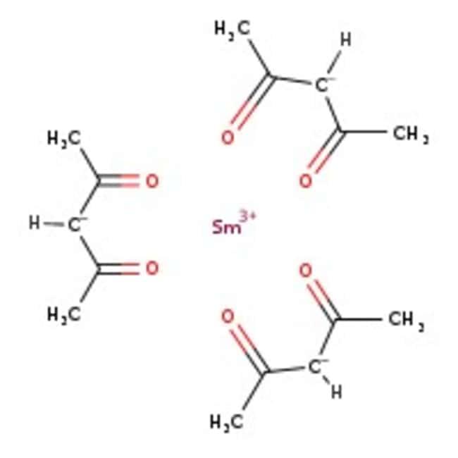Alfa Aesar™Samarium(III) 2,4-pentanedionate hydrate, 99.9% (REO)