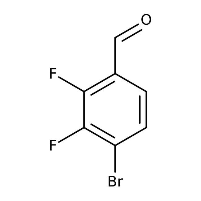 Alfa Aesar™4-Brom-2,3-Difluorbenzaldehyd, 98% 1g Alfa Aesar™4-Brom-2,3-Difluorbenzaldehyd, 98%