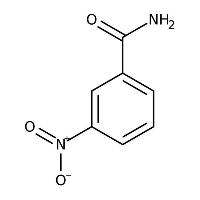 3-Nitrobenzamide, 98%, ACROS Organics™ 100g; Glass bottle 3-Nitrobenzamide, 98%, ACROS Organics™