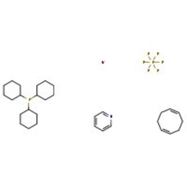 (Tricyclohexylphosphine)(1,5-cyclooctadiene)(pyridine)iridium(I) hexafluorophosphate, Acros Organics