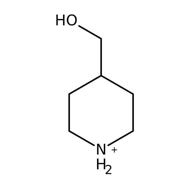 4-Piperidinemethanol, 98%, ACROS Organics