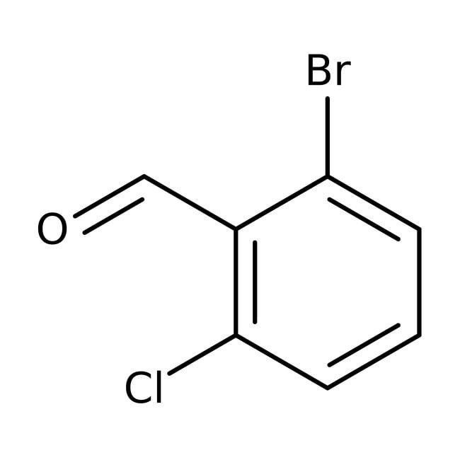 Alfa Aesar™2-Bromo-6-chlorobenzaldehyde, 98% 250mg Alfa Aesar™2-Bromo-6-chlorobenzaldehyde, 98%