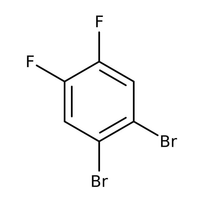 Alfa Aesar™1,2-Dibromo-4,5-difluorobenzene, 98% 100g Alfa Aesar™1,2-Dibromo-4,5-difluorobenzene, 98%