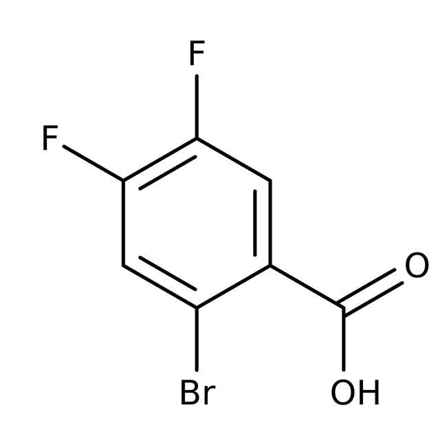 2-Bromo-4,5-difluorobenzoic acid, 97%, ACROS Organics™