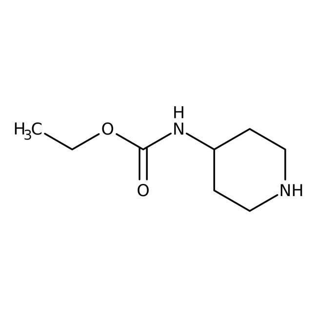 Alfa Aesar™4-(Ethoxycarbonylamino)piperidin, 97% 5g Alfa Aesar™4-(Ethoxycarbonylamino)piperidin, 97%