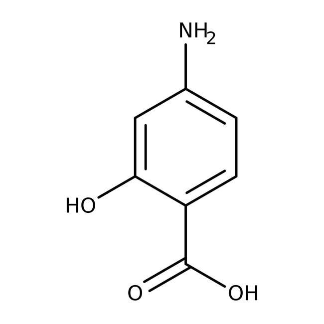 Alfa Aesar™Ácido 4-aminosalicílico, +98% 500g Alfa Aesar™Ácido 4-aminosalicílico, +98%