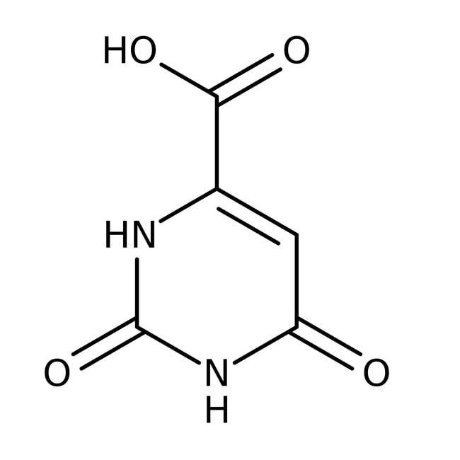Orotic acid, 98%, anhydrous, ACROS Organics