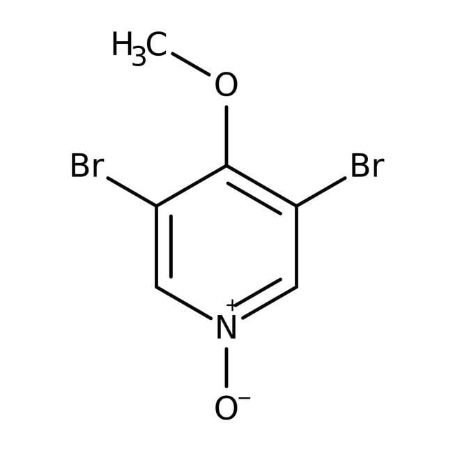 Alfa Aesar™3,5-Dibromo-4-methoxypyridine, 98% 1g Alfa Aesar™3,5-Dibromo-4-methoxypyridine, 98%