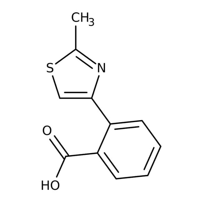2-(2-Methyl-1,3-thiazol-4-yl)benzoic acid, 97%, Maybridge™: Thiazoles Azoles