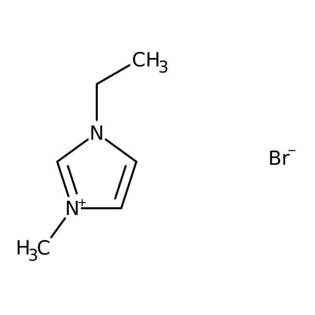 1-Ethyl-3-methylimidazolium bromide, 98%, ACROS Organics
