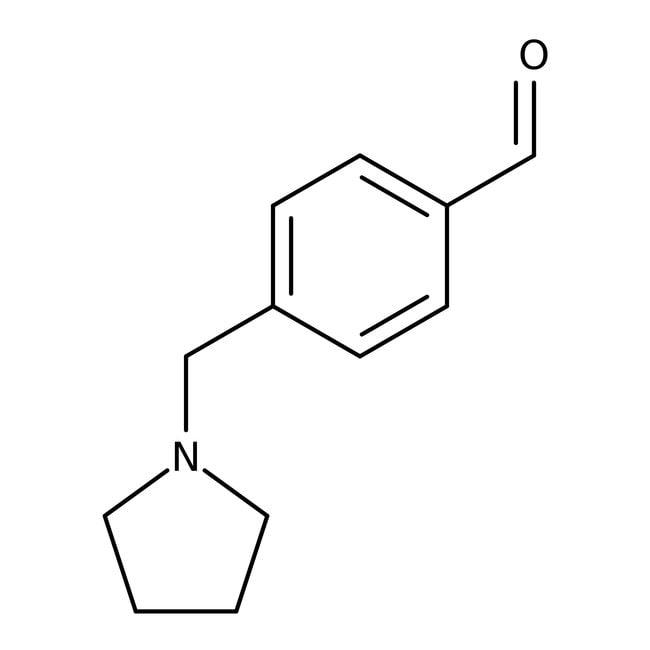 4-(Pyrrolidin-1-ylmethyl)benzaldehyde, ≥97%, Maybridge™ 1g 4-(Pyrrolidin-1-ylmethyl)benzaldehyde, ≥97%, Maybridge™