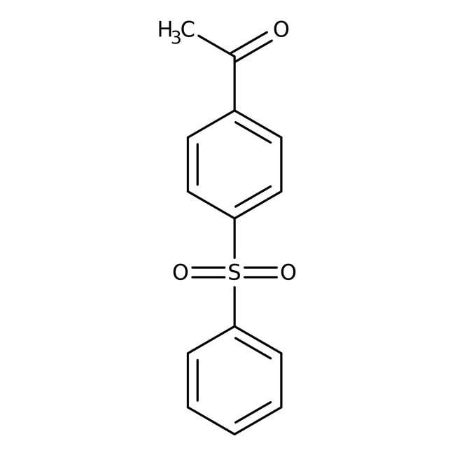 Alfa Aesar™4-Acetyldiphenyl sulfone, 98% 5g Alfa Aesar™4-Acetyldiphenyl sulfone, 98%