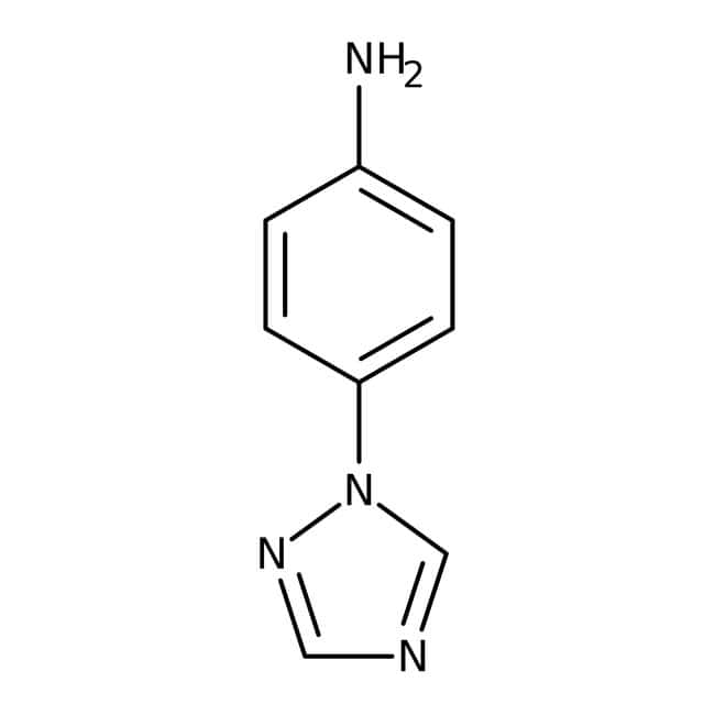 4-(1H-1,2,4-triazol-1-yl)aniline, 97%, Maybridge™ 10g 4-(1H-1,2,4-triazol-1-yl)aniline, 97%, Maybridge™