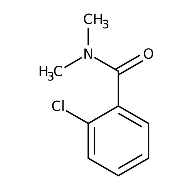 Alfa Aesar™2-Chloro-N,N-dimethylbenzamide, 97% 1g Alfa Aesar™2-Chloro-N,N-dimethylbenzamide, 97%