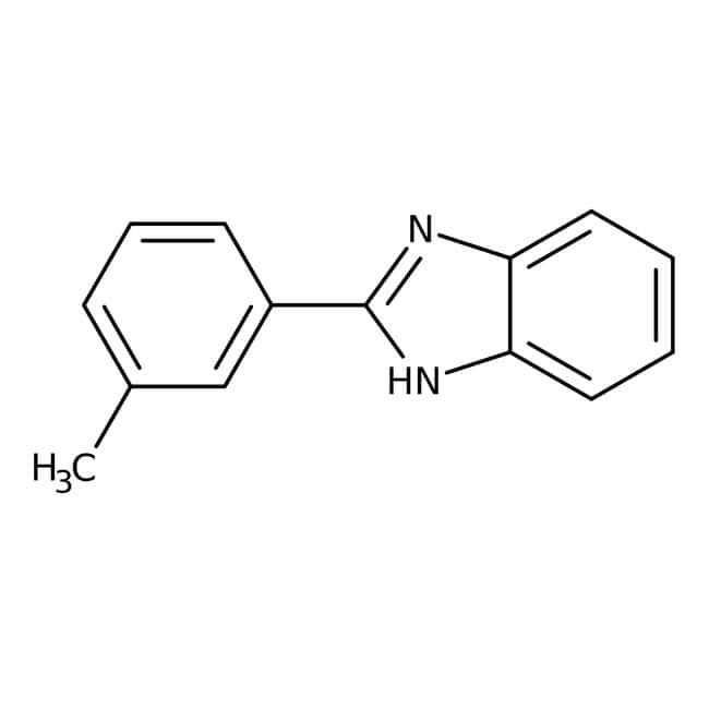 Alfa Aesar™2-(3-Methylphenyl)benzimidazole, 95% 1g Alfa Aesar™2-(3-Methylphenyl)benzimidazole, 95%