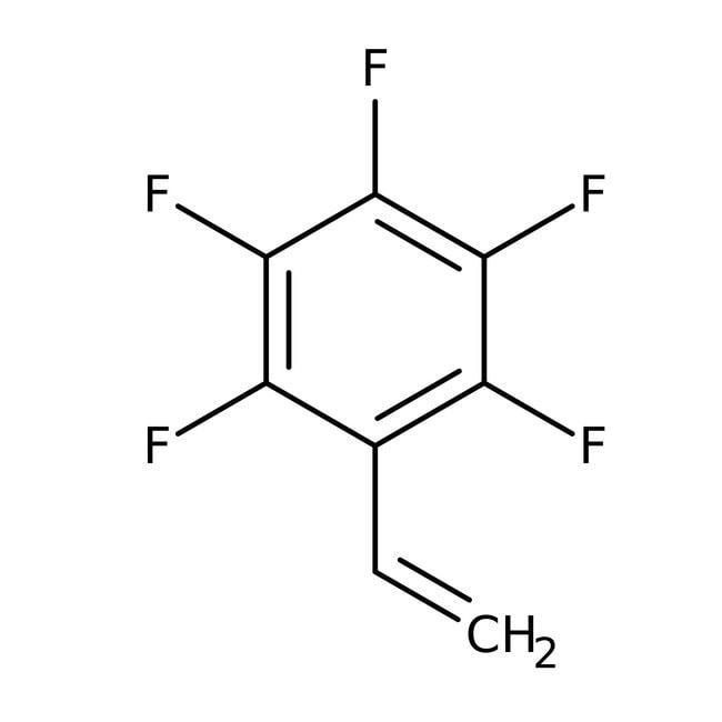 2,3,4,5,6-Pentafluorostyrene, 97%, stabilized, ACROS Organics