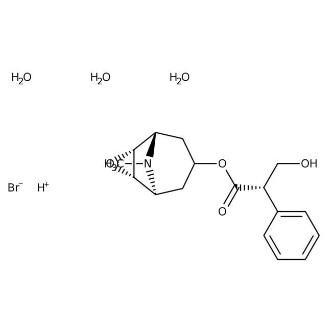 Scopolamine hydrobromide trihydrate, 99%, Acros Organics: Biochemicals Chemicals