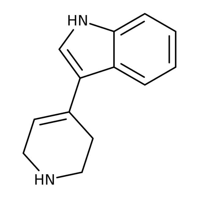 Alfa Aesar™3-(1,2,3,6-Tetrahydro-4-pyridyl)indole, 95% 5g Alfa Aesar™3-(1,2,3,6-Tetrahydro-4-pyridyl)indole, 95%