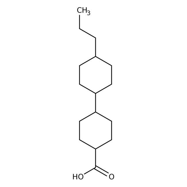 Alfa Aesar™trans,trans-4'-n-Propylbicyclohexyl-4-carboxylic acid, 97%