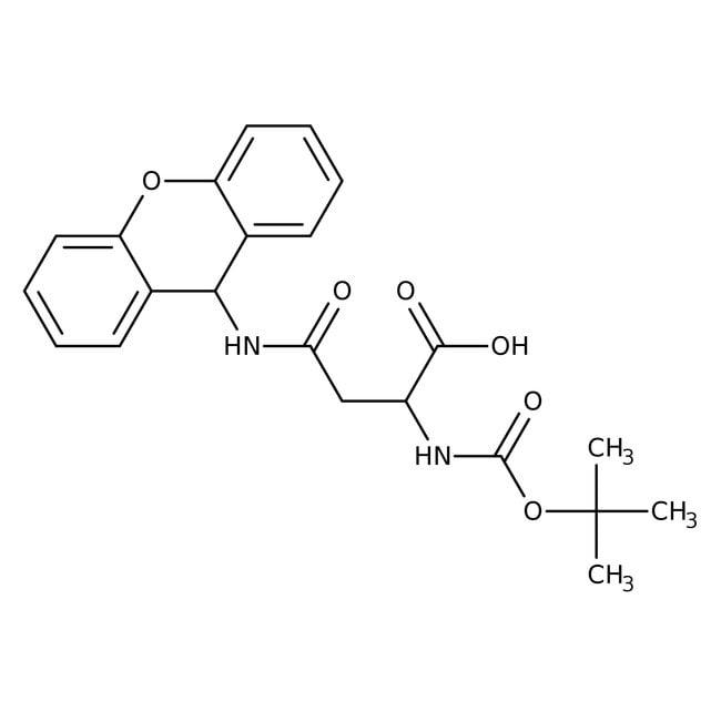 N-α-BOC-N-β-Xanthenyl-L-asparagine, 96%, ACROS Organics™