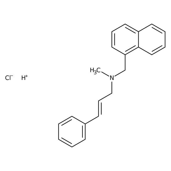 Naftifine hydrochloride, 99%, ACROS Organics™ 1g Naftifine hydrochloride, 99%, ACROS Organics™