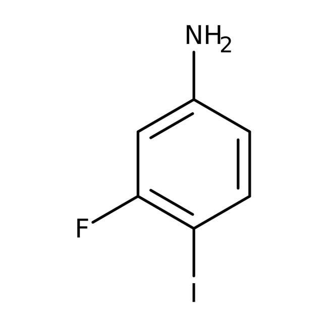 Alfa Aesar™3-Fluoro-4-iodoaniline, 98%