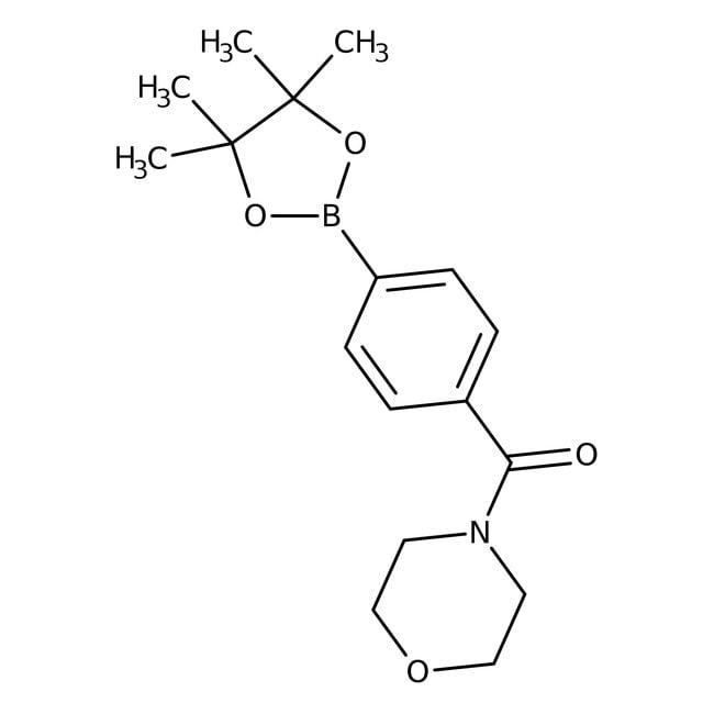 Alfa Aesar™4-(4-Morpholinylcarbonyl)benzeneboronic acid pinacol ester, 97%: Chemicals Products
