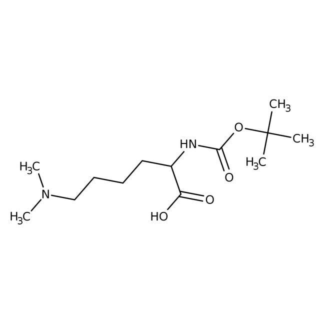 Alfa Aesar™N(alpha)-Boc-N(epsilon),N(epsilon)-dimethyl-L-lysine, 97% 1g Alfa Aesar™N(alpha)-Boc-N(epsilon),N(epsilon)-dimethyl-L-lysine, 97%