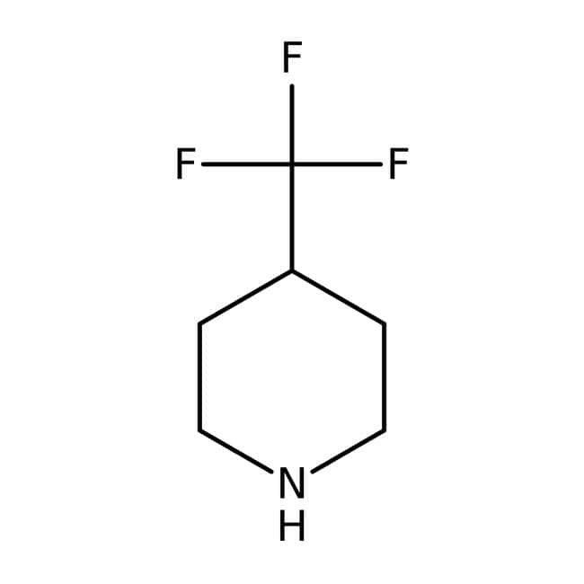 Alfa Aesar™ 4-(Trifluoromethyl)piperidine, 97% 5g Alfa Aesar™ 4-(Trifluoromethyl)piperidine, 97%