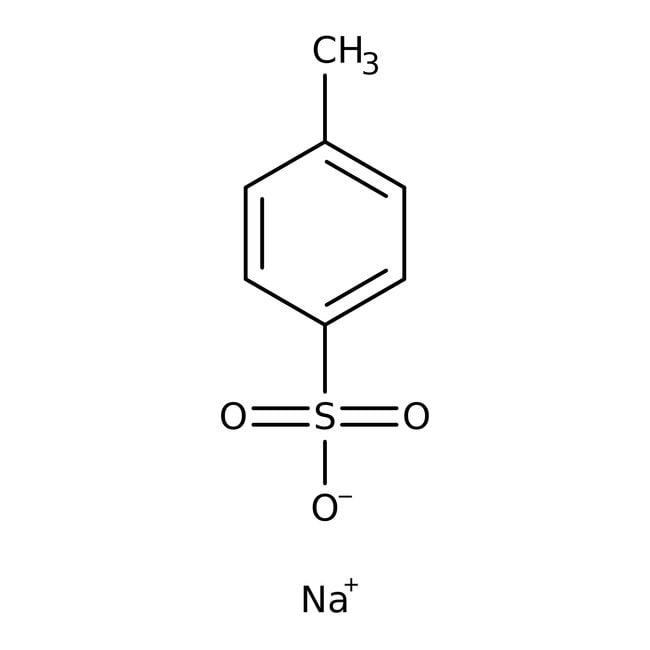 p-Toluolsulfonsäure, Natriumsalz, Acros Organics™ 500 g-Glasflasche p-Toluolsulfonsäure, Natriumsalz, Acros Organics™