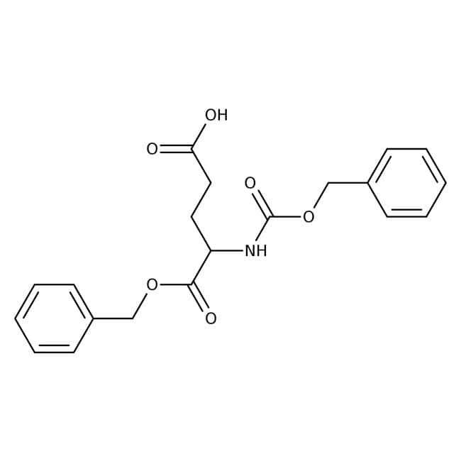 N-CBZ-D-glutamic acid α-benzyl ester, 98%, ACROS Organics™